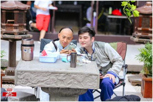 《我家那小子》钱枫谷智鑫重聚 横店重启演员梦