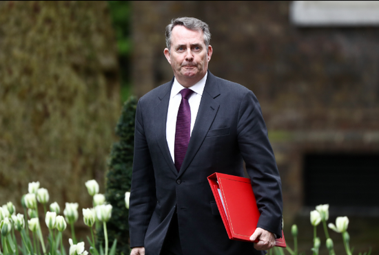 英国国际贸易大臣:英国无协议脱欧的可能性达60%
