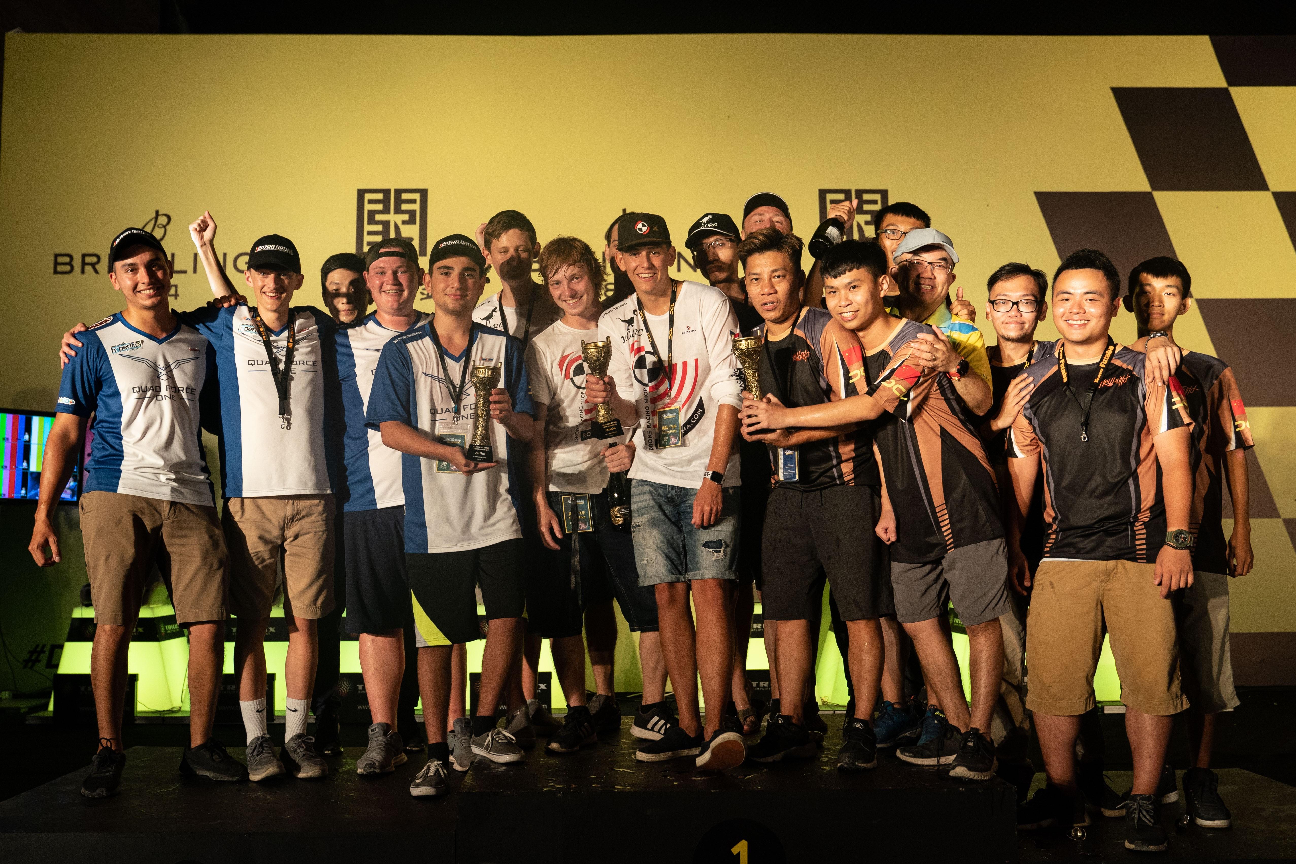 前线  19岁深圳飞手率中国外卡队获得DCL无人机国际邀请赛季军
