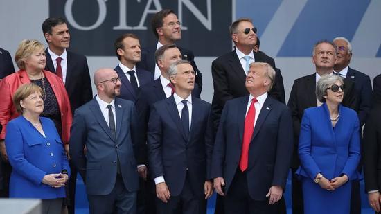 """▲美国和盟友的关系被外界认为是""""面和心不合""""。(盖帝图像)"""