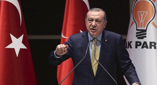 土耳其总统呼吁结束美元在世界贸易中的主导地位
