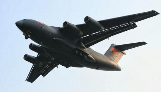资料图片:中国空军运-20大型运输机。(图片来源于网络)
