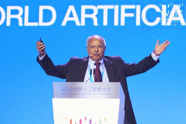 图灵奖获得者Raj Reddy:人工智能技术将带动全球GDP增长