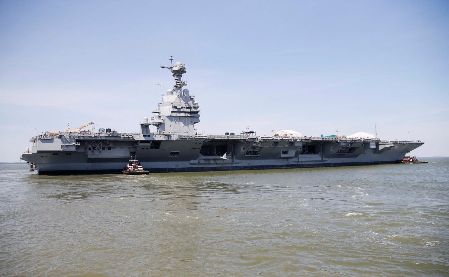 美媒:美航母战备陷入最低谷 中俄趁机强化海军截图