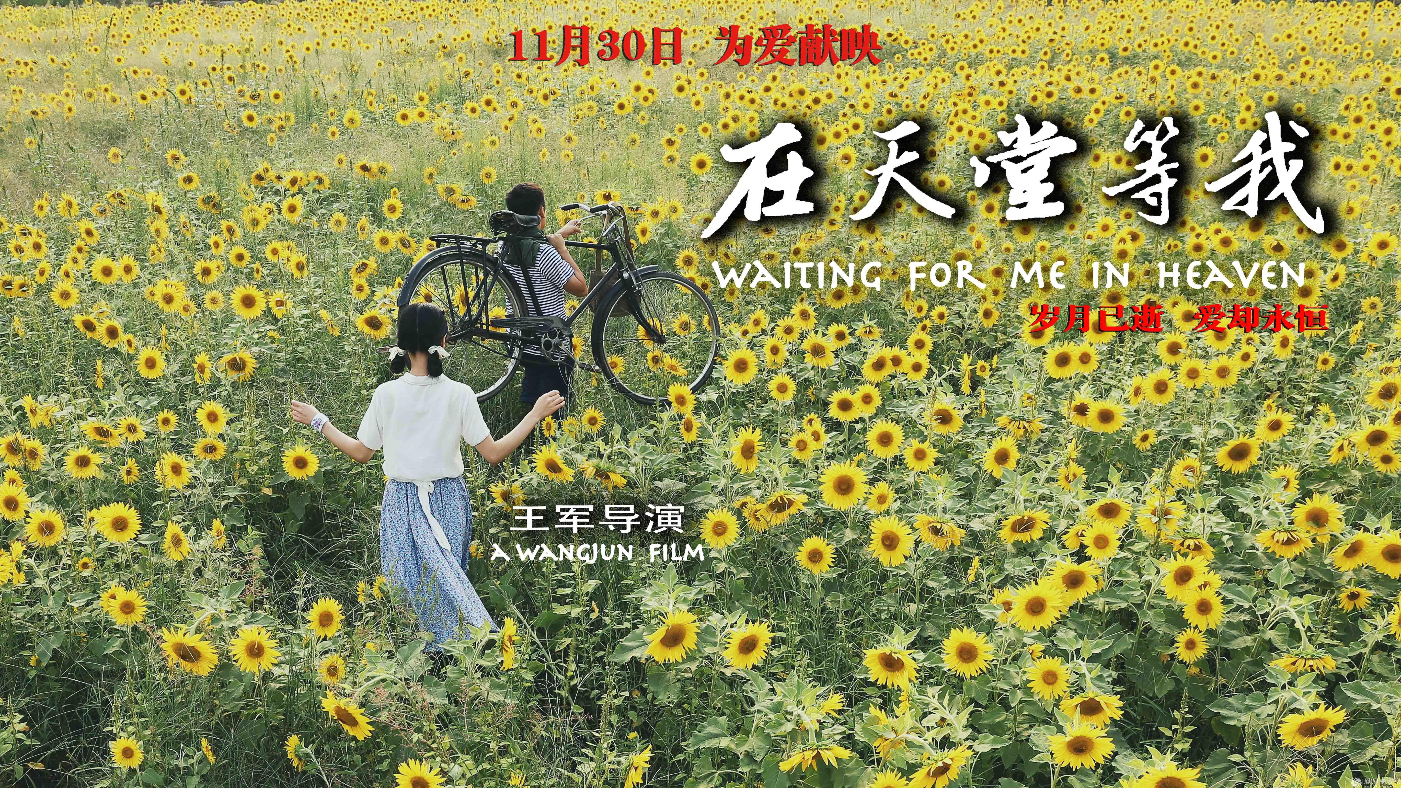 《在天堂等我》定档1130 呈现唐山大地震中的生死绝恋