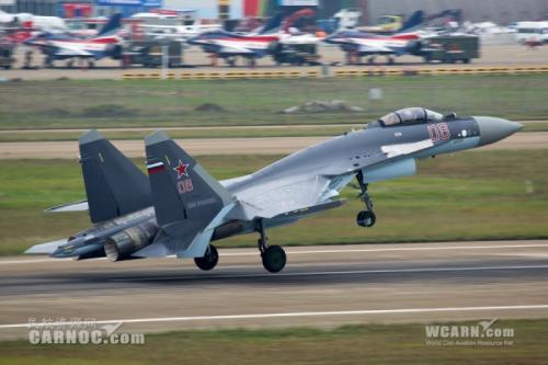 俄技术集团:很自豪中国飞行员喜欢苏-35战斗机