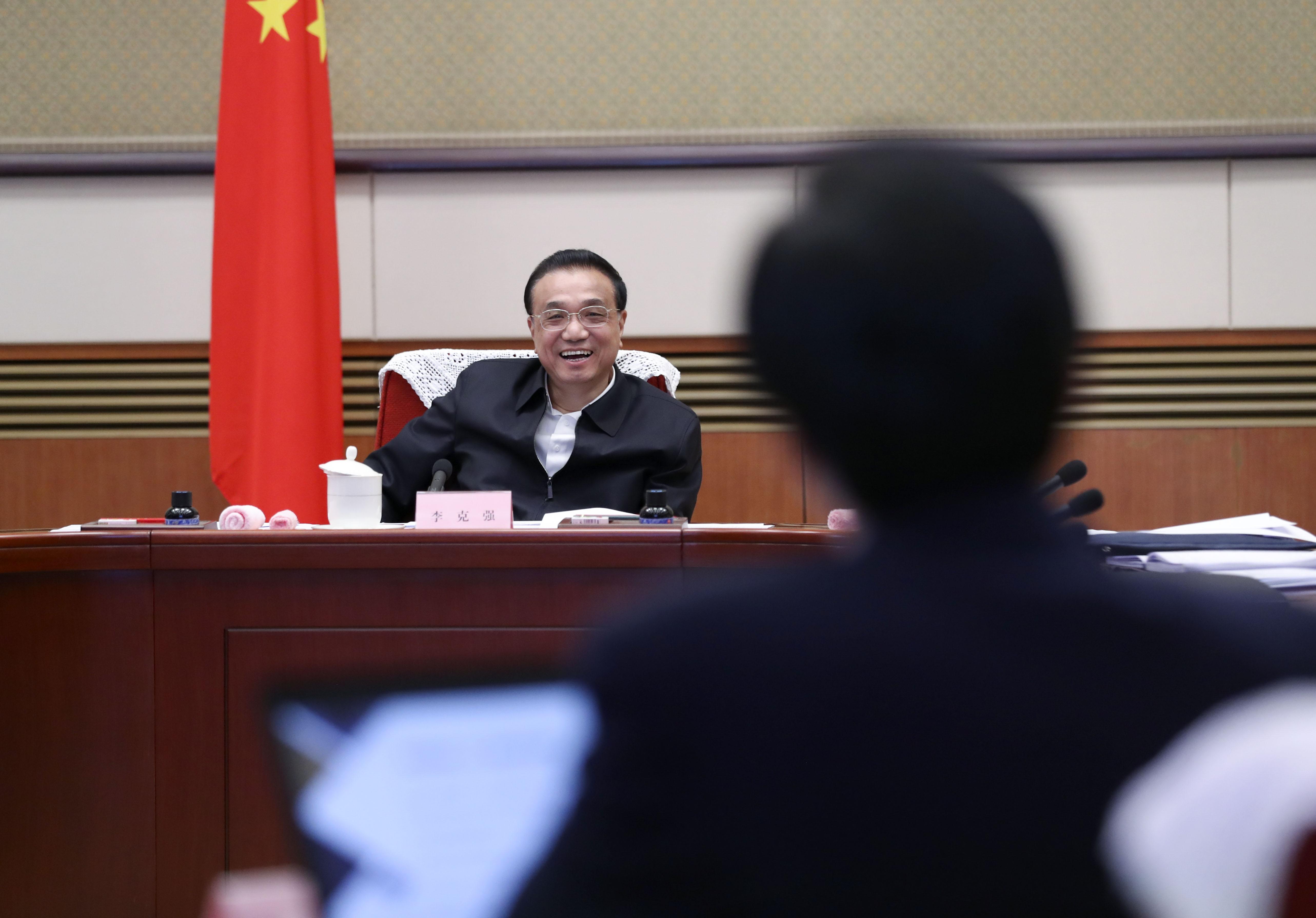 李克强:要激励金融部门主动作为