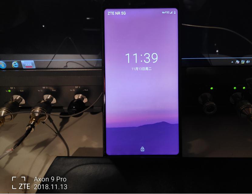 """5G终端商用新突破 中兴手机实现5G""""呼叫、上网、聊微信"""""""