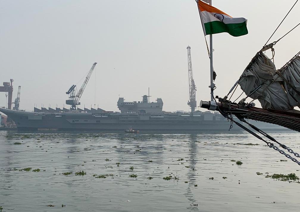 一年過去印度國產航母沒啥變化 2020海試恐難實現