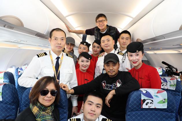 张涵予袁泉主演《中国机长》 取材川航备降事件受关注
