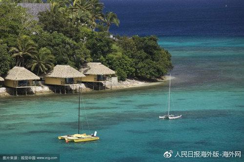 南太平洋岛国瓦努阿图。图片来源:视觉中国