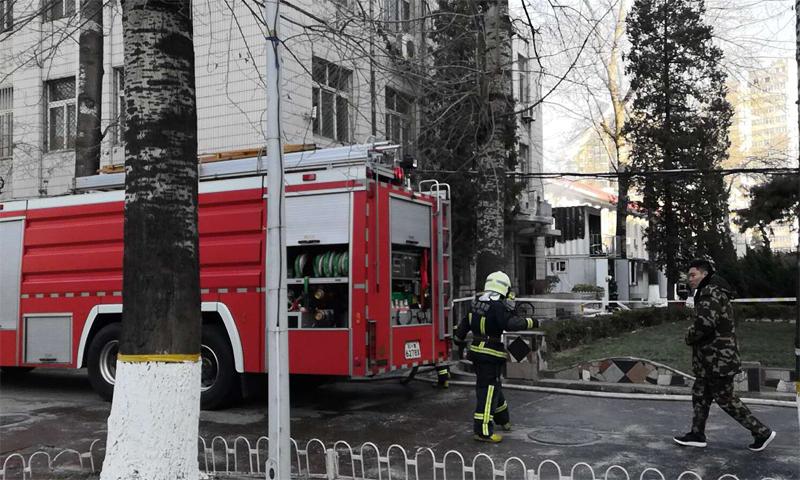 北京交大实验室发生爆炸 北京急救中心证实有人员伤亡