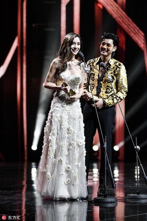 """多个领域全面开花 """"娱乐圈全能者""""吴亦凡、Angelababy获得今日头条年度全能明星"""