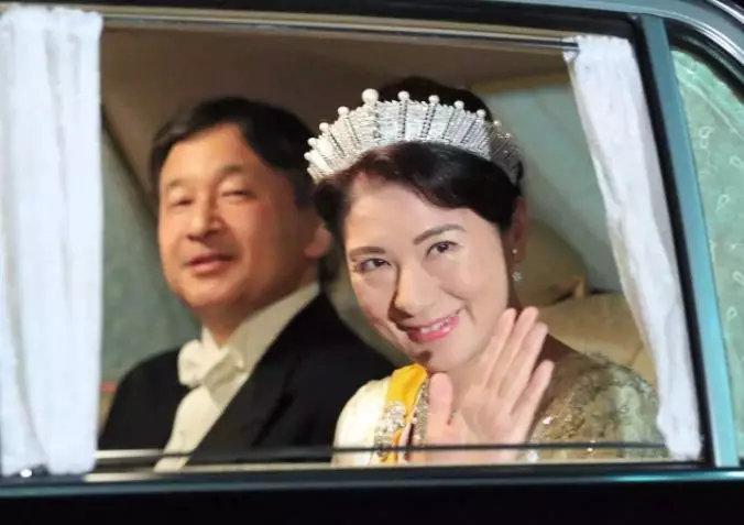▲日本皇太子德仁与皇太子妃雅子