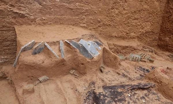竖坑大墓为五镈九钮,成为目前所知春秋早期墓葬出土乐悬制度中的最高