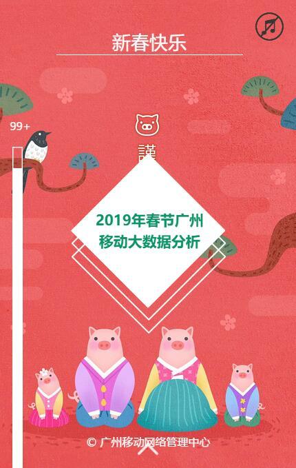 2019春节广州移动大数据分析