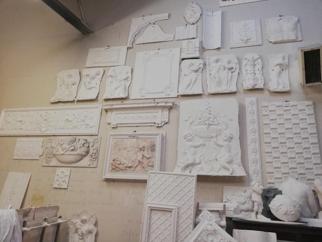 浇塑建筑的灵魂,Staff Espaces Volumes石膏艺术