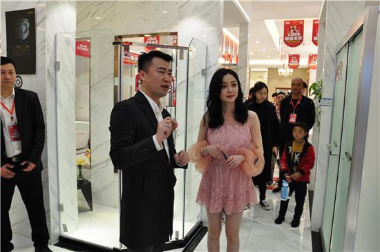 鲸喜来袭!明星汪小敏亲临浪鲸卫浴421全国明星签售惠郑州站