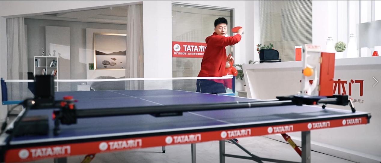 丁宁忘穿小裙裙、12岁选手挑战马龙 凤凰网&TATA木门带你感受欢乐世乒赛