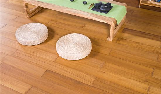 轻奢范安信柚木实木地热地板, 1秒提升居家品质