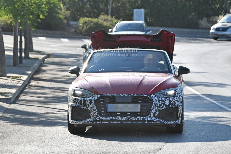 2021款奥迪车S5敞篷版谍照曝出  或2020年现身