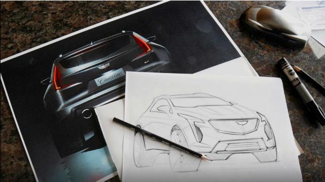 凯迪拉克汽车XT4-V曝出 将有着300匹马力