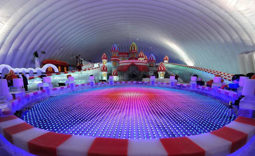 哈尔滨建世界最大室内冰雪乐园 实现四季冰雪旅游