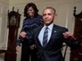 奥巴马劈叉表忠心