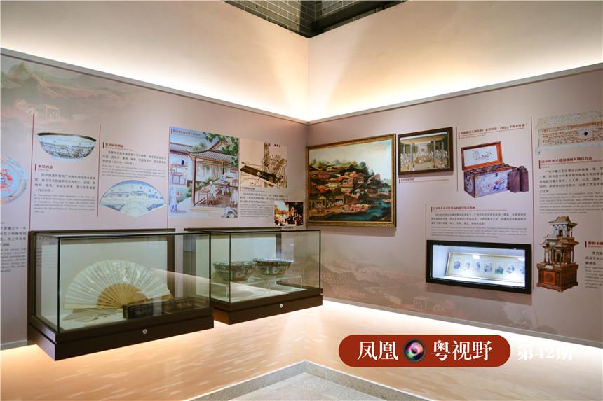 """在""""粤海关""""第一纪念馆中,可以重温旧时黄埔村对外通商的繁荣以及与海外文化交流的历史。"""