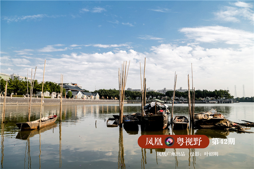 谁能想到,200多年前,这片港口曾经桅樯林立,汇集了各国商船上的财富往事,以及中国商人的商业神话……这是黄埔古港,海上丝绸之路的重要见证。图为:黄埔古港遗址一带。