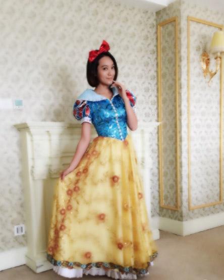 朱丹COS白雪公主…美是挺美,就是稍微黑了点 [有看点]