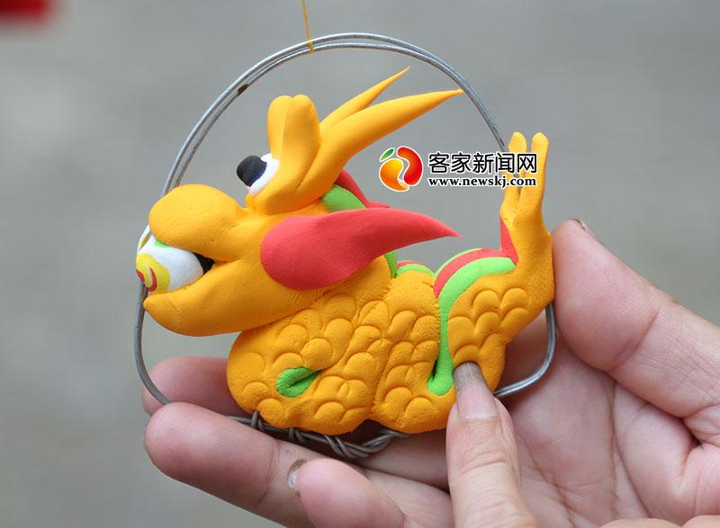 小动物简单泥塑可爱