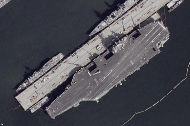 中国卫星早已世界第二 为打美国航母量身定做