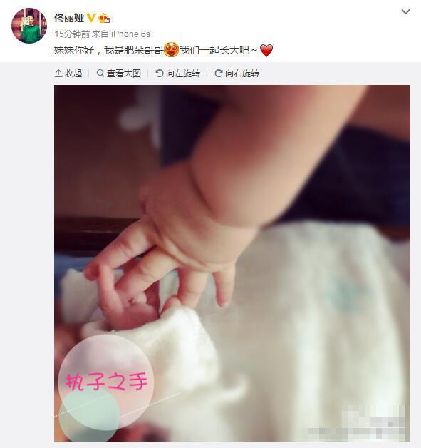 佟丽娅带儿子看望董璇女儿 牵手订下娃娃亲(图)【星看点】