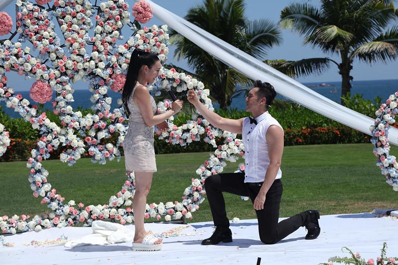 钟丽缇希望10月结婚 造人计划顺其自然【星看点】