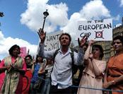逾270万人要求二次公投 伦敦北爱吁脱英独立