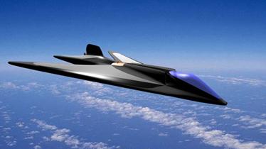 外界猜想中国新隐形轰炸机 外形酷似B-2?