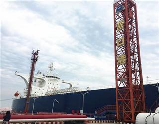 """30万吨级""""光荣星""""号原油船"""