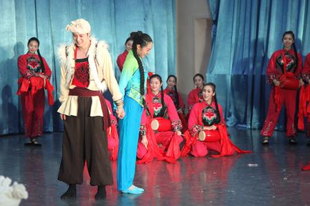 中国东方歌舞团首部舞剧《兰花花》全剧联排在