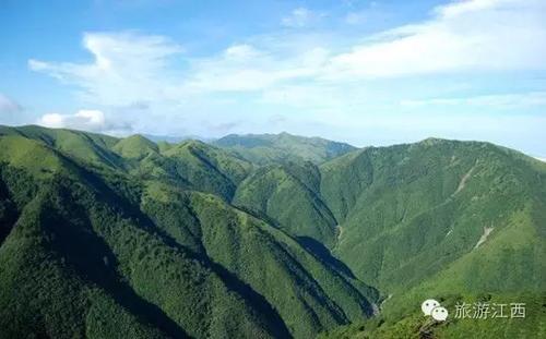 江西十大高山排名,真正的江西最高峰是…