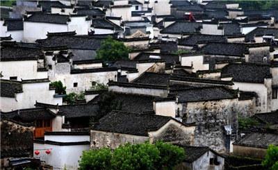 美景团|安徽皖南宏村田园风光纵横交错