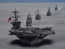 美军舰集结南海施压 中方不在乎