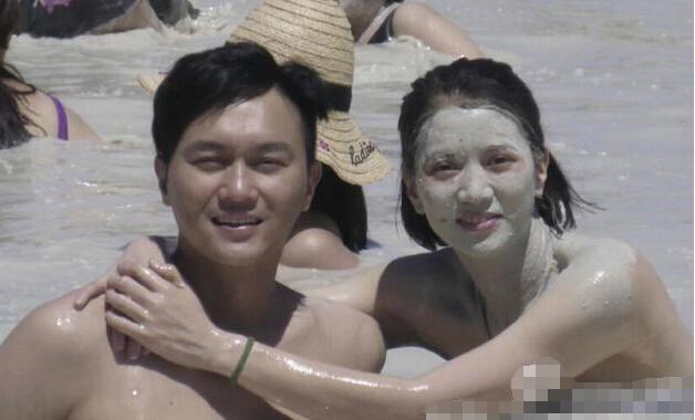 袁咏仪张智霖泡鸳鸯泥浆浴 疑似半裸【有看点】