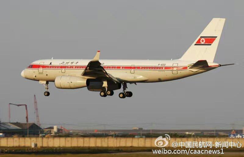 朝鲜高丽航空一架客机起火后紧急迫降沈阳