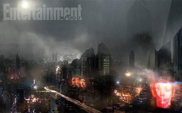 《银翼杀手2》首曝概念图 未来洛杉矶烟雾缭绕