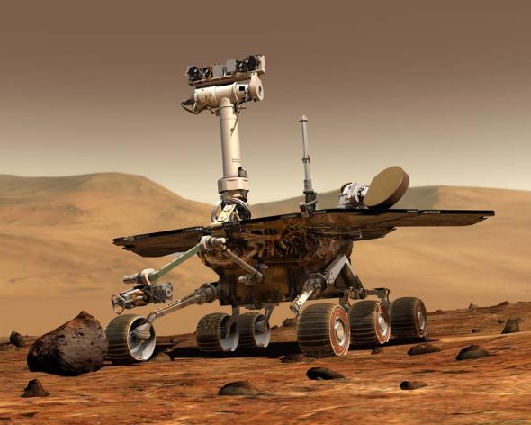 美准备开建将于2020年升空的火星车 用于搜寻生命迹象