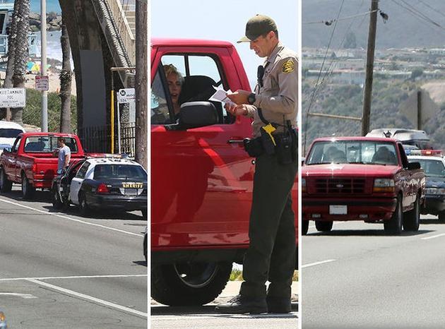 【有意思】女司机Lady Gaga开车疑违章 被警察拦下