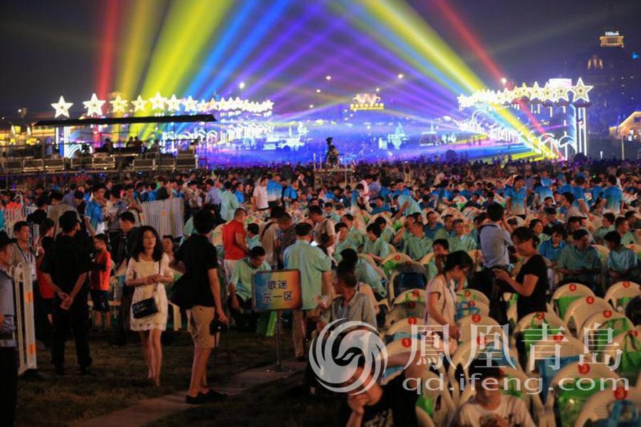第26届青岛国际啤酒节黄岛主会场璀璨开幕
