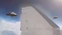 外国网曝俄罗斯战机与UFO擦肩而过视频