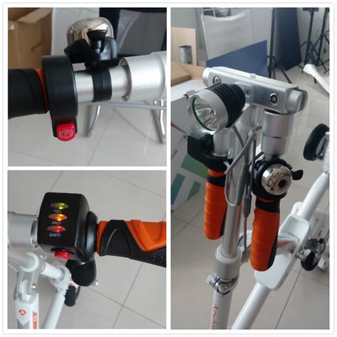爱尔威电动自行车e6开箱:产品篇